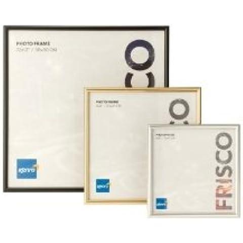 Kenro Frisco Oro 20,3x 20,3cm/cornice portafoto quadrato, 20x 20cm