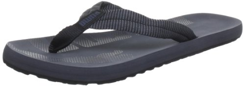 Puma Epic Flip Stripes 354557, Herren Zehentrenner, Schwarz (turbulence-black 01), EU 47 (UK 12) (US 13)