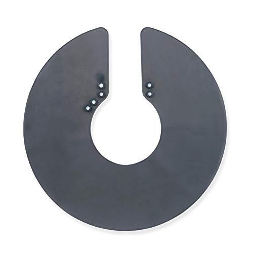Chifans Silikon-Ausschnittkragen-Hals-Schild-magnetische Wasserdichte Färbung Kap-Berufsfriseur-Haar-Schal -