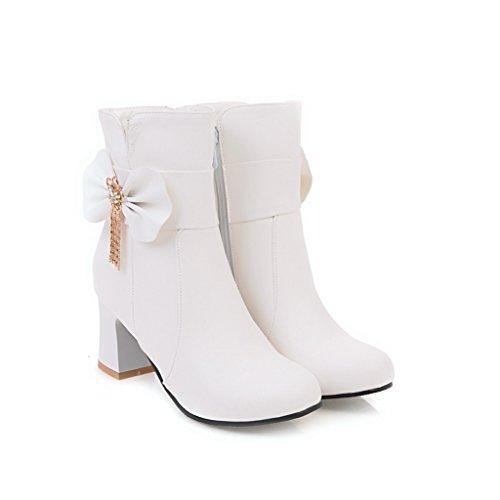 BalaMasa  Abl09572, Sandales Compensées femme Blanc