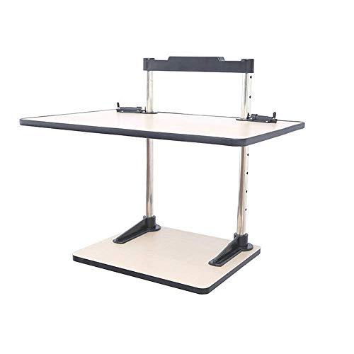 Verstellbarer Laptop-Tisch zum Essen, Laptop-Klapp-Nachttisch und Schlafsofa, Terrasse, Balkon, Garten ()