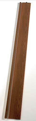 Zusatzlamelle Grosfillex Axia, 76302052, Volllamelle, B 84 x H 205 cm, teak