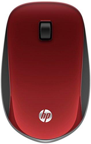HP Z4000 (E8H24AA) kabellose Maus (Optischer Sensor, Link-5 Nano, USB-Receiver mit 2,4 GHz, 3-Tasten-Design, Standard-Scroll-Funktion) rot (Hp Tablet Usb-port)