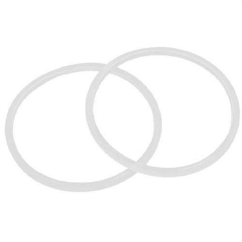 sourcingmapr-2-x-casa-pentola-a-pressione-bianco-18cm-diametro-interno-guarnizione-anello-sigillante