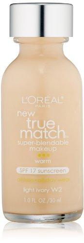 loreal-true-match-super-blendable-makeup-w2-light-ivory