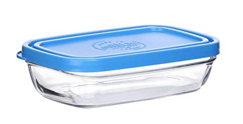 Duralex - Ravier 15X9,4Cm avec couvercle Bleu
