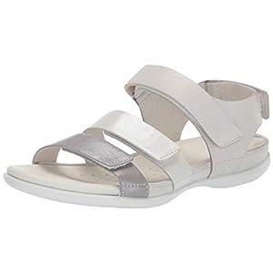 ECCO Flash, Ankle Strap Sandals Women's, Grey (Wild Dove/White Shadow/White 51435), 6 UK EU