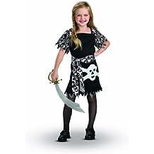 Rubie'S I-883792S - Disfraz de pirata para niña (3 años) (talla S)