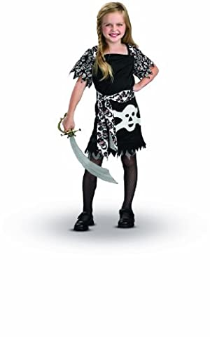 Rubie's I-883792S Déguisement Costume Pirate Fille Taille 3-4 Ans