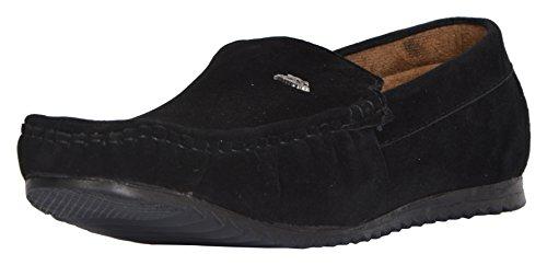 Shoe Forest Men's Black Loafers - 10 UK
