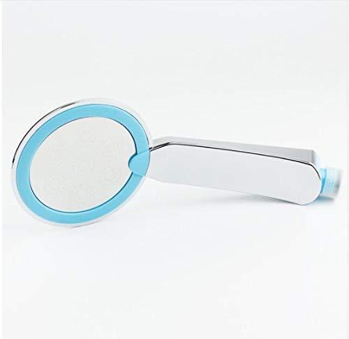 Duschkopf Wassereinsparung Hohe Druck Handheld Style Rain Badezimmer Wasser Booster Duschkopf Abs Chrom 24 * 2 * 10,5 Cm Blau - Speakman Duschkopf