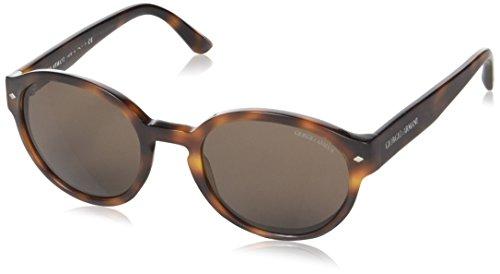 Giorgio Armani Damen AR8005 Sonnenbrille, Braun (Matte Havana 500753), One Size (Herstellergröße: 51)
