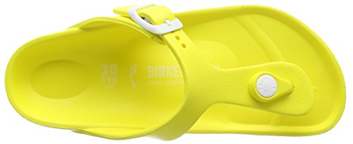 Birkenstock Gizeh Kids EVA, Tongs fille Jaune (Neon Yellow)