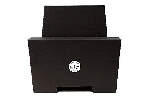 Stehschreibtisch Monkey Desk Von Room In A Box Large Schwarz Faltbares Ergonomisches Stehpult Praktischer Stander Fur Laptop Pc Tablet Und