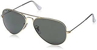 Ray-Ban - Lunette de soleil RB3025 Aviator metal Aviator - Homme, Gold (B002ZLYRNI) | Amazon Products