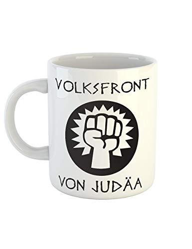 clothinx Kaffeetasse mit Aufdruck Volksfront von -