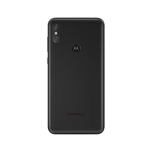 Motorola One 64 GB 5.9 Inch Android One Android 8.1 UK Sim-Free Smartphone with 4 GB RAM and 64 GB Storage (Dual Sim), Ceramic Black Img 1 Zoom