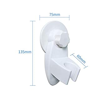 Bathroom Waterproof Sucker Sprinkler Bracket Shower Lotus Head Hand Spray Hook Corner seat Sticky Hook Base Card Holder