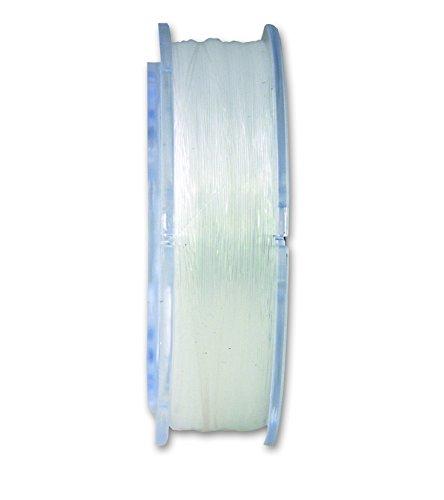 Chapuis NY5Nylonband-Résistance à la Rupture Ungefähre: 128kg-Durchmesser: 2Millimeter-Länge: 15Meter, transparent