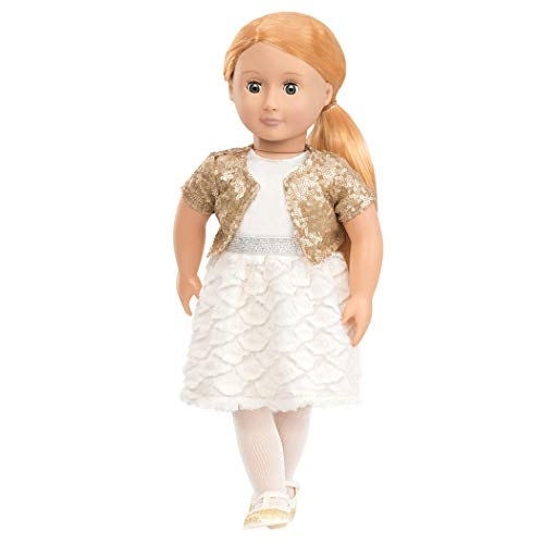 85Z - OG - Holiday Hope Puppe mit Glitzeroutfit, 46 cm ()