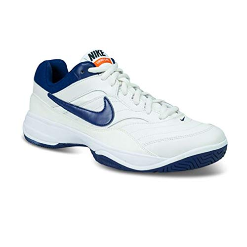 Nike Court Lite, Scarpe da Tennis Uomo, Multicolore (Phantom/Blue Void/Sail/Black 007), 41 EU