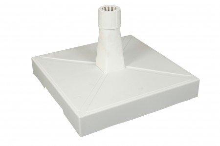Roll foot support pour parasol blanc 30 kg