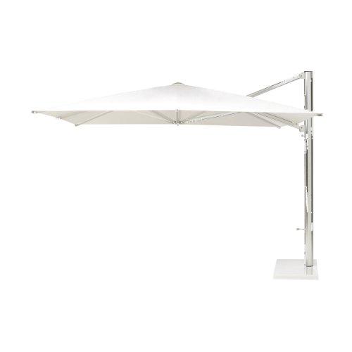 Shade Ampelschirm weiß 400 x 324 cm - inkl. Schirmständer und Schutzhülle