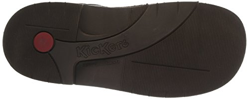 Kickers Kick Col, Boots fille Marron (marron Fonce Perm)