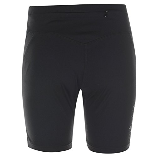 USA Pro Damen Shorts Training Kurze Hose Hochbund Sporthose Gummizug Sportshorts Schwarz