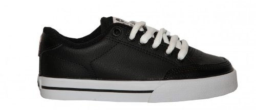 Circa Skateboard Shoes ALK50 Black/White Sneakers Shoes, shoe size:29-32