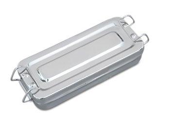 Beauty-Instrumentenschale mit Deckel und Verschluss (Sterilisator Fußpflege)