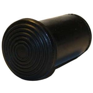 Krückenkapsel für Krankenstöcke aus Holz, 16mm – Saugkapsel Gummipuffer