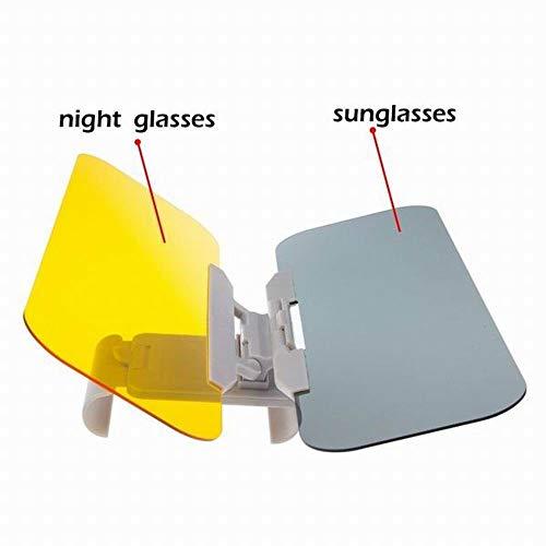 Dre-CHENZI Auto Sonnenblende Blendschutz Spiegel Tag und Nacht Auto Supplies 32 x 12 x 2 cm Anti-Okular