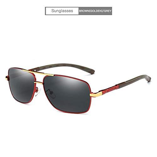 YongFeng Polarisierte Mode Sonnenbrillen Explosions-Sonnenbrillen für Herren JF (Color : C)