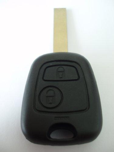 Ersatze Autoschlüssel-Gehäuse für Funk-Autoschlüssel/Klappschlüssel, 2 Tasten, für Citroen C1, C2, C3, C4, C6 -