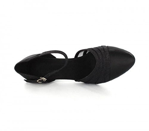 Tda Preto Dançando Seis Senhoras Sapatos Centímetros x4xH7wBq