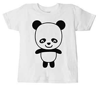 CHILDS CHINESE T-SHIRT NEW YEAR CHINA TSHIRT 100% COTTON TOP ORIENTAL PRINTED STYLE ASIAN KIDS TEE 3-14 (PANDA, 5-6 YEARS)