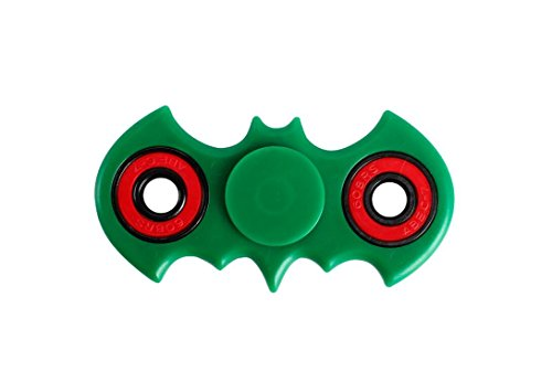 ILOVEDIY Fidget Hand Spinner – Ultra Fast Bearings – Perfect For Fidgety Hands, ADD, ADHD, Relieves Stress, Autism and Anxiety Relaxing for Children & Adults (Green)