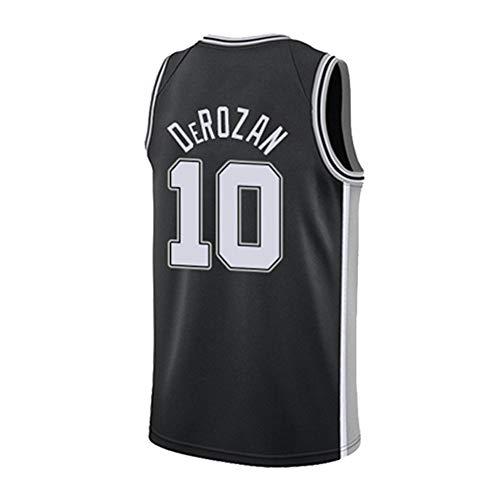 new concept e3623 254bf Camisetas De Hombre San Antonio Spurs # 10 Demar DeRozan Retro Chaleco Sin  Mangas De Baloncesto Ventilador Uniforme De Baloncesto Swingman De ...