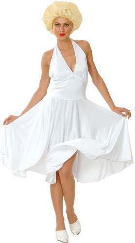 Marilyn Monroe Kostüm Ideen - Weiß Marilyn Kostüm. Mittlere Größe EUR