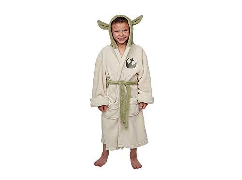Star Wars Yoda Master Yoda Jedi Ears Fleece Bathrobe Kinder Bademantel - Star Wars-yoda-fleece