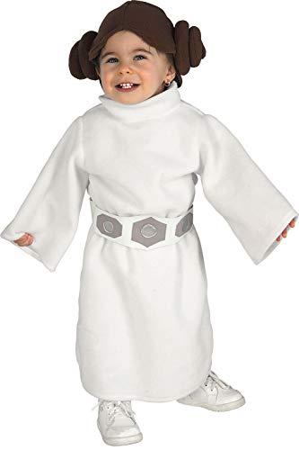 Rubies 's-Disfraz de oficial de Disney Star Wars Leia infantil, los niños-infantil
