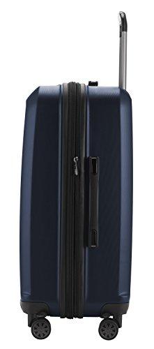 HAUPTSTADTKOFFER - X-Berg - Koffer Trolley Hartschalenkoffer, TSA, 65 cm, 90 Liter, Dunkelblau - 3
