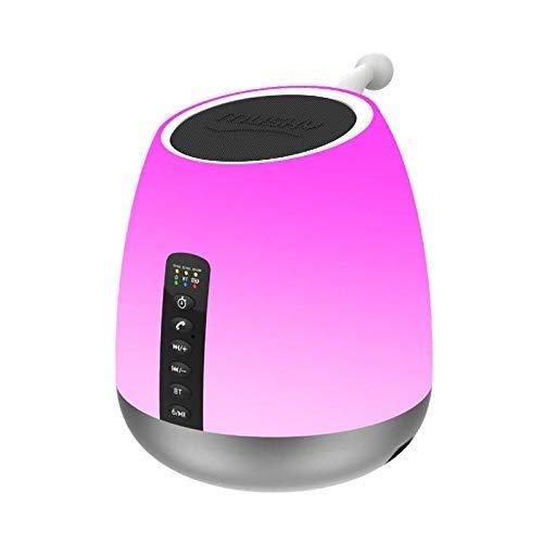 A-Nice LED-Nachtlicht-4.2 Bluetooth-Audio-Nachtlichtlampe, Nachtlichter für Kinder, Babyzimmer, Kinderzimmer, 4 Packs