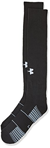 Under Armour UA Team OTC Calcetines deportivos, Hombre, Negro (Black), MD