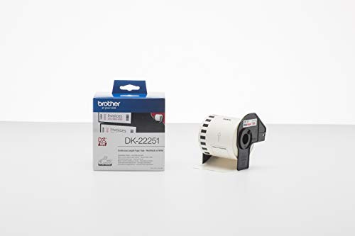 Zoom IMG-1 brother dk22251 etichette a lunghezza