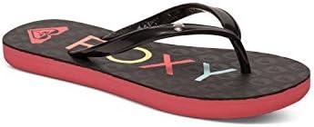 Roxy Rg Sandy G Sndl Blk - Sandalias para niñas