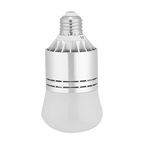 Bombilla LED E27 con sensor de luz Automático LED automático Amanece a bombillas de amanecer con encendido / apagado automático Base de aluminio para puerta de entrada garaje escaleras del pasillo del(Luz blanca)