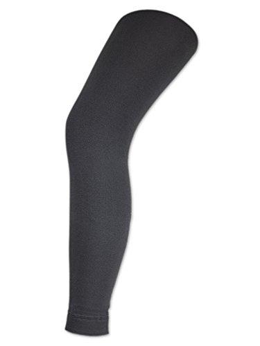 Damen THERMO Leggings mit Innenfleece extra warm Innenfutter Fleece Leggins - sockenkauf24 (40/42, Anthrazit)
