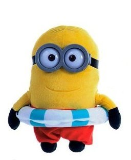 Minion with Float Plush - Despicable Me - 25cm 9""